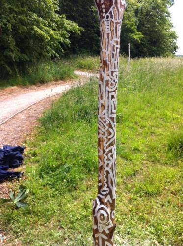 Sculpture Post