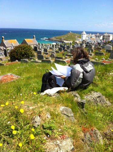 Sketching in Graveyard